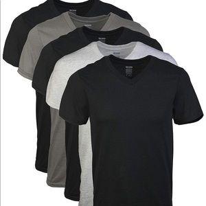 169 Men's Assorted V-Neck T-Shirts Multipack